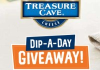 Treasure Cave Cheese Dip A Day Giveaway