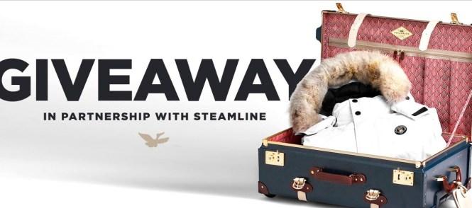 Triple F.A.T. Goose Giveaway - Win Steamline Stowaway Suitcase