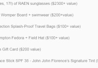 Ultimate Summer Essentials Giveaway - Win 16 Pairs Of RAEN Sunglasses