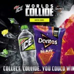 Worlds Collide Mtn Dew and Doritos Instant Win Game