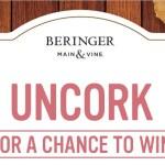 Beringer Main & Vine Wine Instant Win Game