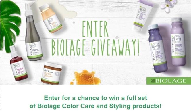 Biolage Giveaway
