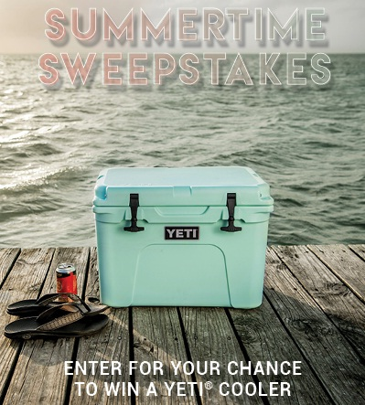 Boot Barn Summertime Yeti Sweepstakes