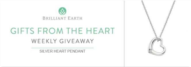 Brilliant Earth Gifts From The Heart Giveaway