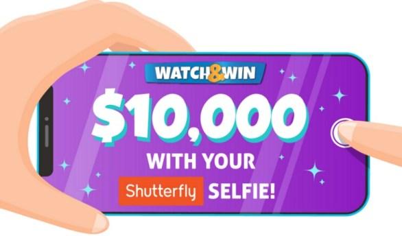 Ellen Shutterfly Watch & Win Contest