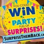 Kinder Surprise Them Back Contest