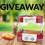Nostalgia Retro Hot Dog Roller Giveaway - Win Retro Hot Dog Roller