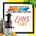 Omega Juicers Squeeze the Most Out of Summer Sweepstakes