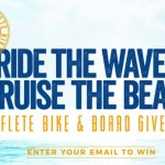 SOFLETE Beach Cruiser And Surfboard Sweepstakes - Win Beach Cruiser And Sufrboard