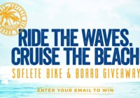 SOFLETE Beach Cruiser And Surfboard Sweepstakes - Win Beach Cruiser And Sufrboard