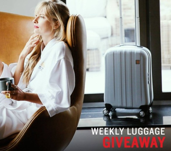 Swissgear Weekly Luggage Set Giveaway