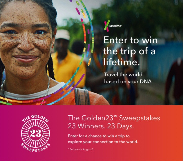 The Golden 23SM Sweepstakes