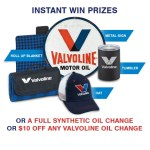 Valvoline Drives Instant Win Game