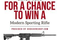 Buds Gun Shop Modern Sporting Rifle Giveaway