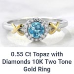 Diamond And Topaz Ring Giveaway