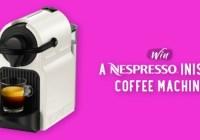 FoodEnvee Coffee Machine Giveaway