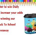 Kollercraft Aquariums Back To School Giveaway