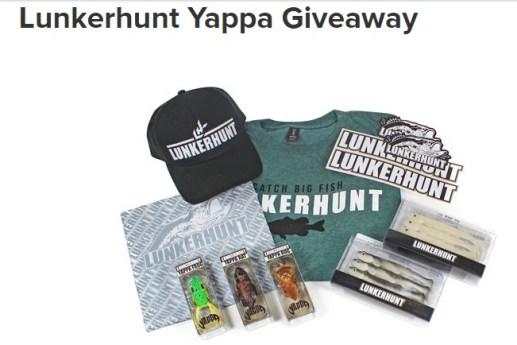 Lunkerhunt Yappa Giveaway