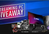 MSI Streaming Pc Giveaway