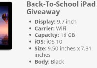 Mac Warehoude Back To School Giveaway