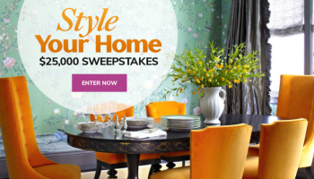Home Sweet Home Sweepstakes - Enter To Win $25000 Check