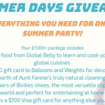 Summer Days Giveaway