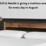 Tuft & Needle Month of Birthday Giveaway
