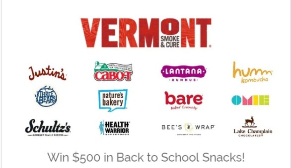 Vermont Smoke & Cure Ultimate Back To School Giveaway