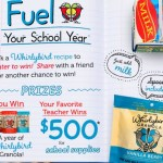 Whirlybird Granola Back To School Sweepstakes