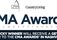 Country Living CMA Awards Sweepstakes
