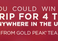 Gold Peak Taste That Brings You Home Sweepstakes