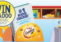 Goldfish Back to School Contest