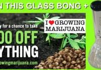 I Love Growing Marijuana Sweepstakes