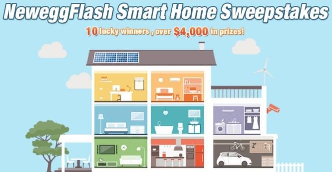 Newegg Flash Smart Home Sweepstakes