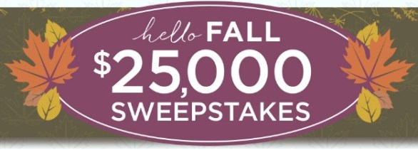 QVC Hello Fall Sweepstakes
