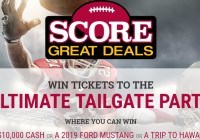 Score Great Deals Sweepstakes