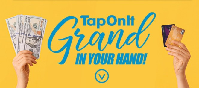 TapOnIt Grand In Your Hand Sweepstakes