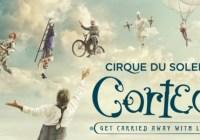Cirque Du Soleil Corteo Sweepstakes