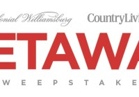 Country Living Colonial Williamsburg Getaway Sweepstakes