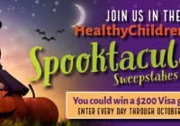 Healthy Children Spooktacular Sweepstakes