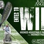 Kayak Angler Werner Kayak Fishing Paddle Giveaway