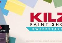 Kilz Paint Shop Sweepstakes