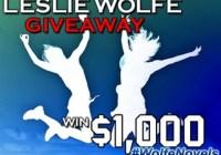 Leslie Wolfe Casino Girl Sweepstakes