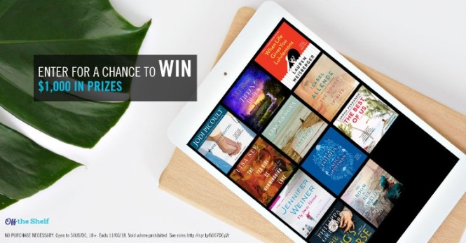 Off The Shelf Simon And Schuster Audio Sweepstakes
