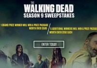 The Walking Dead Season 9 Sweepstakes