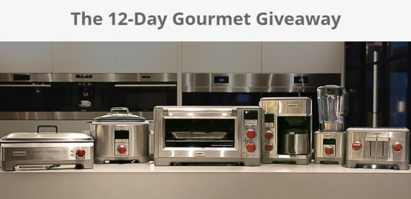 Sub-Zero/Wolf/Cove Showroom 12-Day Gourmet Giveaway