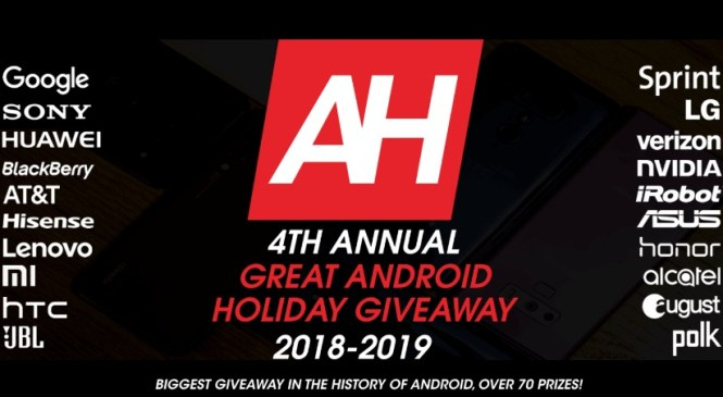 Android Headlines The Great Android Holiday Giveaway