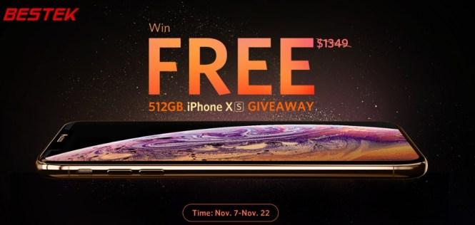 Bestek iPhone XS Giveaway