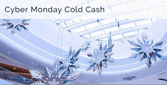 Bloomington Cyber Monday Cold Cash Giveaway