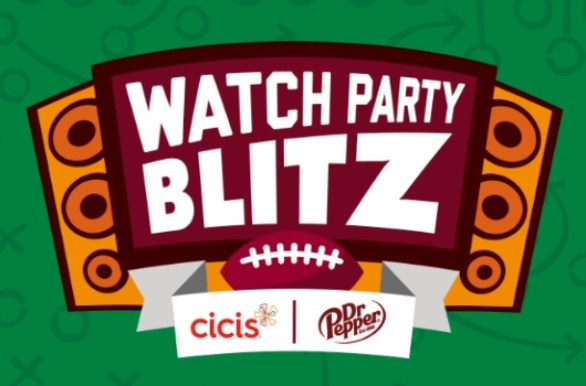 Dr Pepper Cicis Watch Party Blitz Giveaway